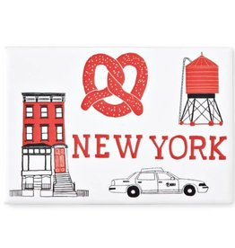 Claudia Pearson Magnet: Red NYC