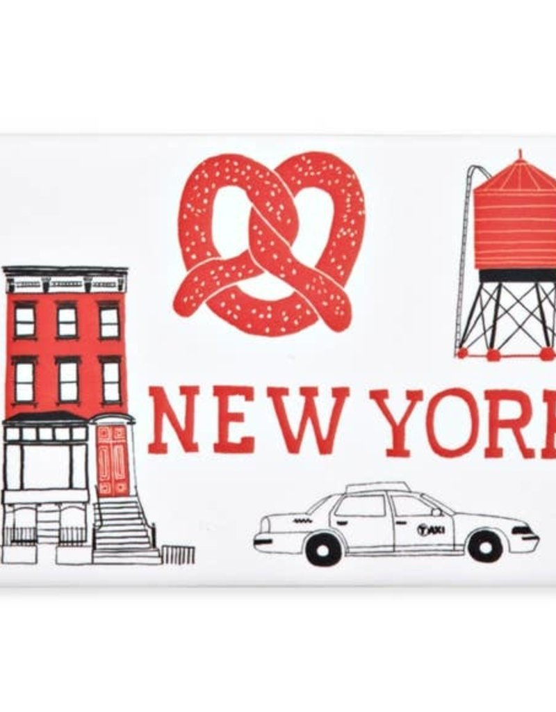 Magnet: Red NYC