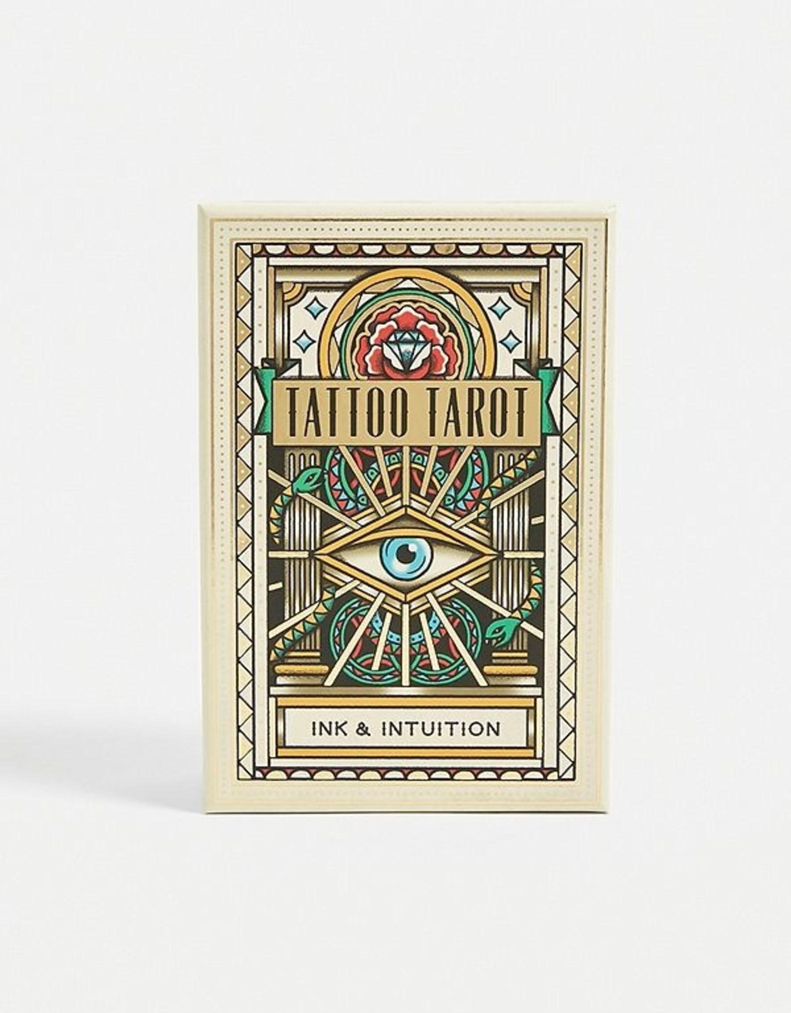 Chronicle Books Tarot Tattoo