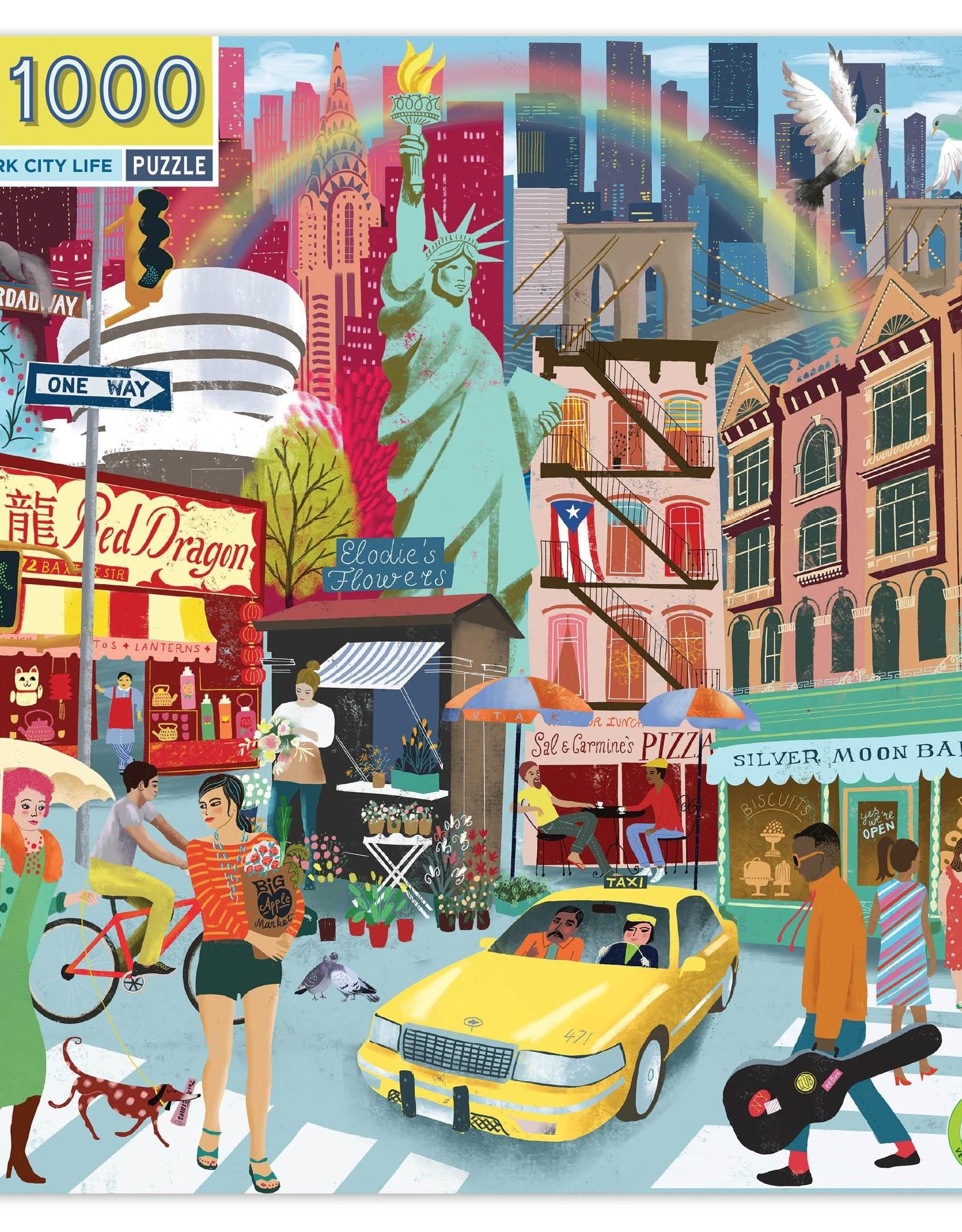 Puzzle 1000 piece: New York City Life