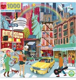 eeBoo Puzzle 1000 piece: New York City Life