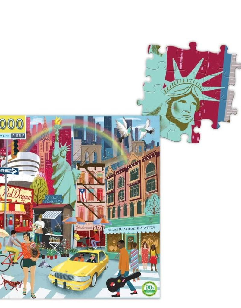 Puzzle 1000 piece: NYC Square