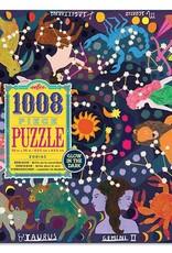 eeBoo Puzzle 1000 piece: Glow in the dark Zodiac