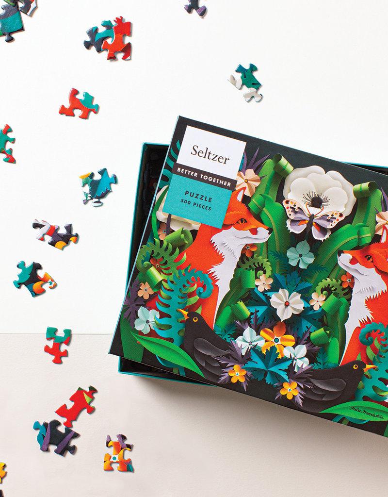 Puzzle - 500 piece - Fox Garden
