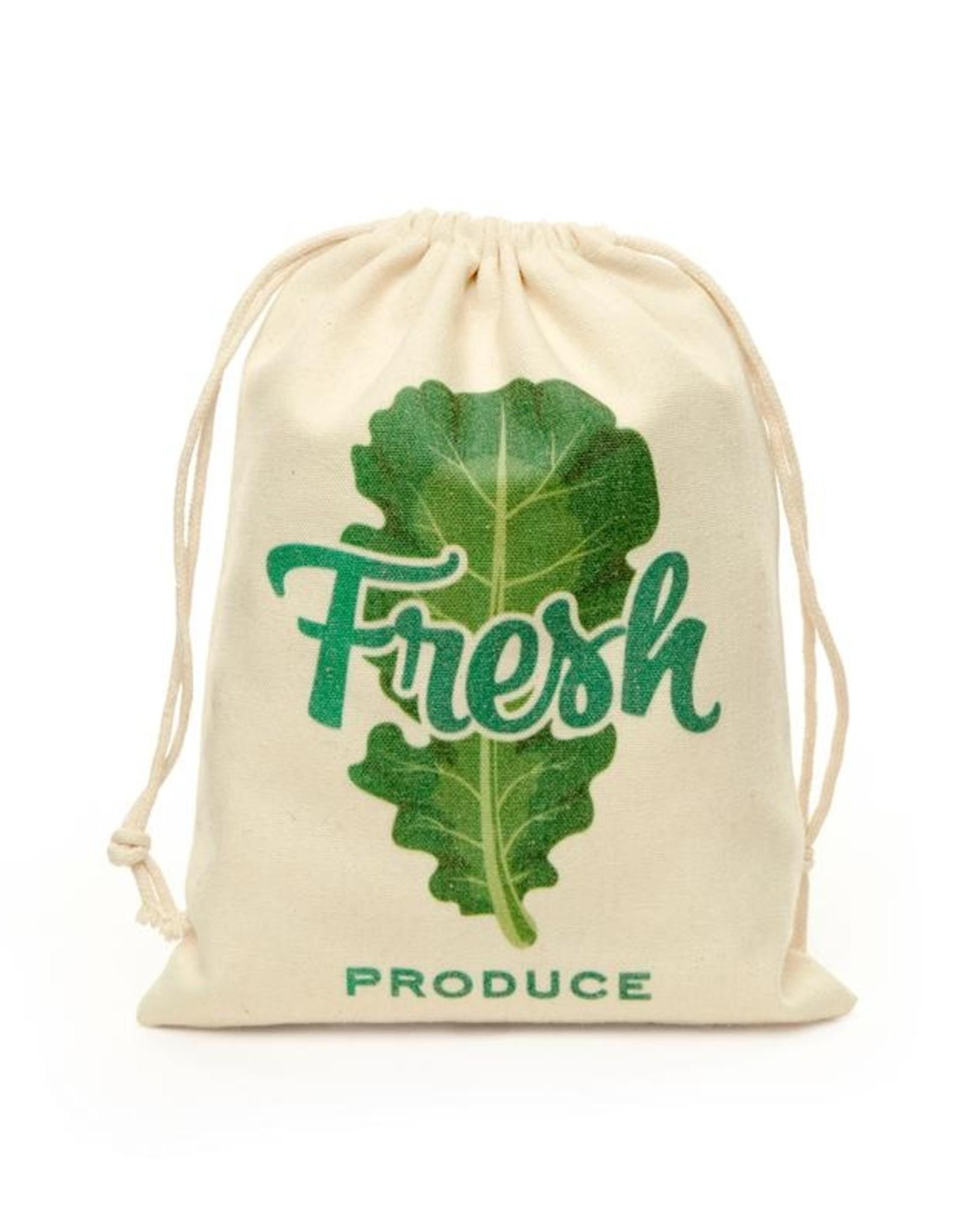 Kikkerland Cotton Mesh Produce Bags (set 5)