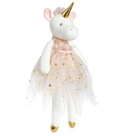 Stuffie Doll: Large Unicorn with tutu