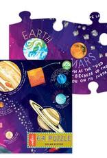 eeBoo Puzzle: 64 piece Solar System
