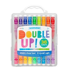 Ooly DBA International Arrivals Double Up! 2 in 1 mini markers