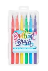 Ooly DBA International Arrivals Brilliant Brush Markers