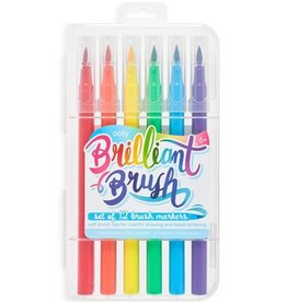 Ooly DBA International Arrivals Brilliant Brush Markers