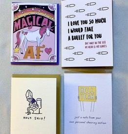 Card Set - Holy Shit set of 4