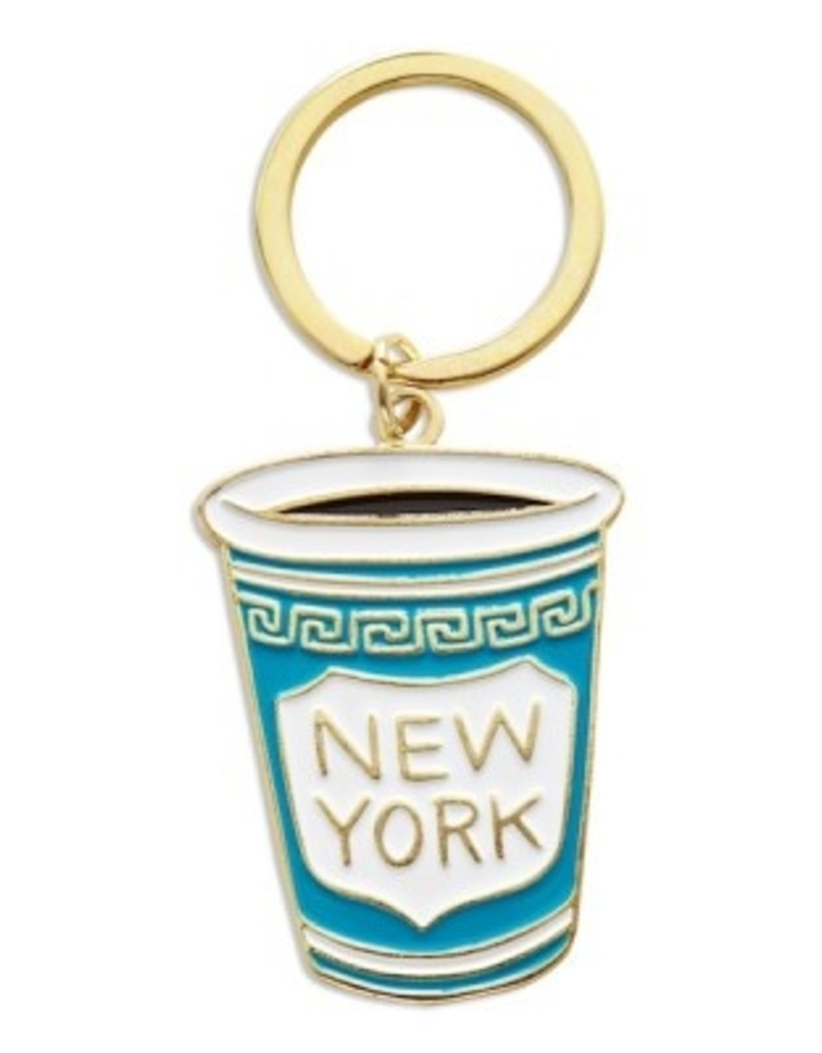 The Found Enamel Keychain