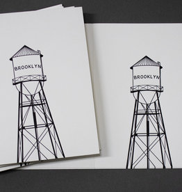 Quick Brown Fox Boxed Cards - Brooklyn Water Tower