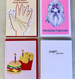 Cards: Birthday Pack - set of 4