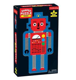 Puzzle: 50 piece Robot Shaped