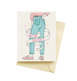 Card: Mom - Mom Genes