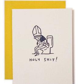 Card Blank - Holy Shit