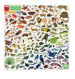 eeBoo Puzzle 1000 piece: A Rainbow World