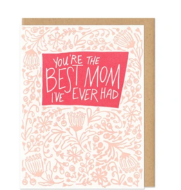 Frog and Toad Press Card: Mom- You're The Best Mom I've Ever Had