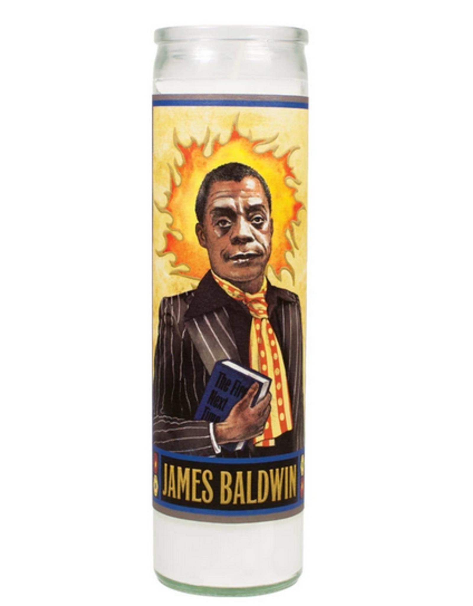 Secular Saints Candle - Baldwin