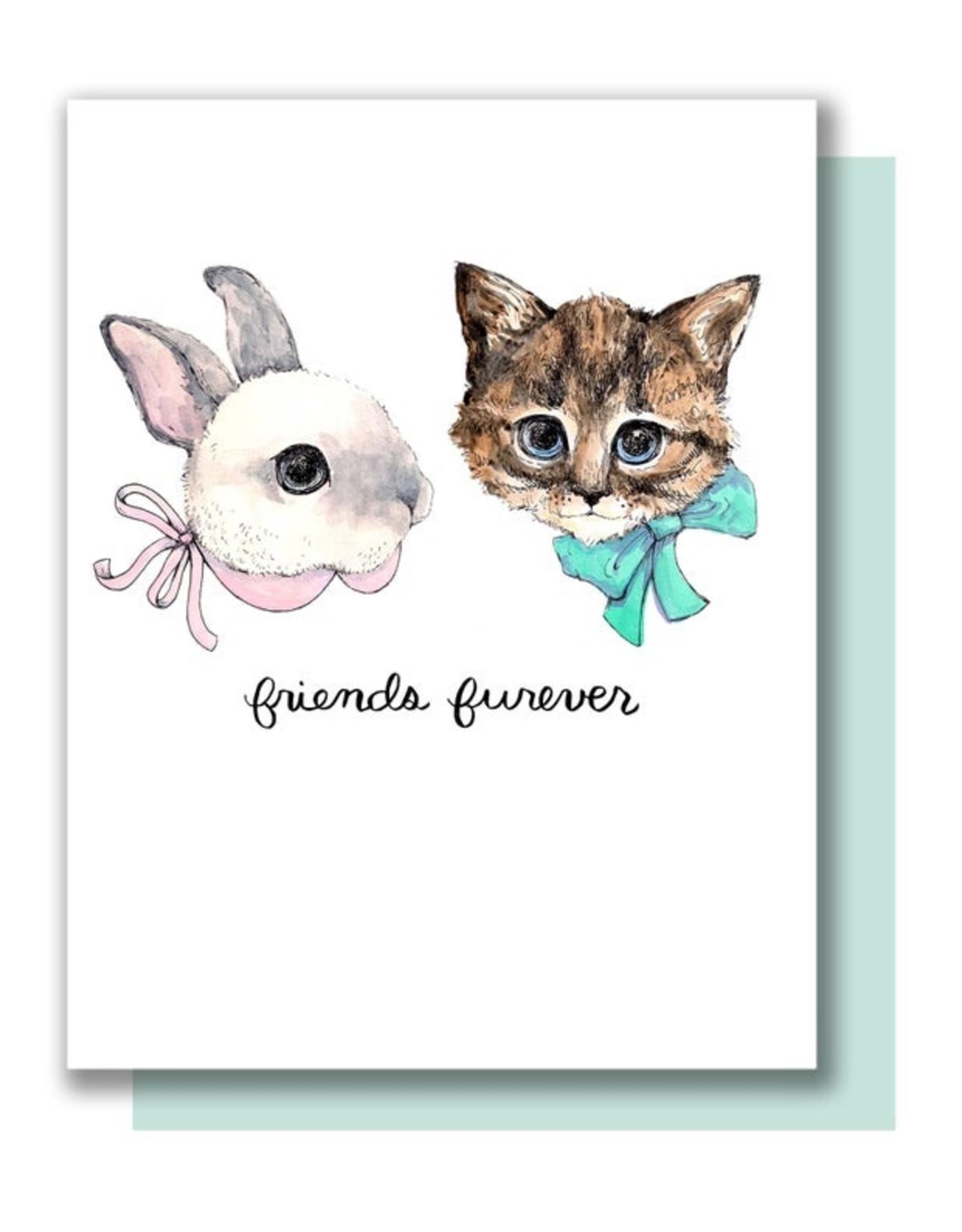 Card - Blank: Friends Furever