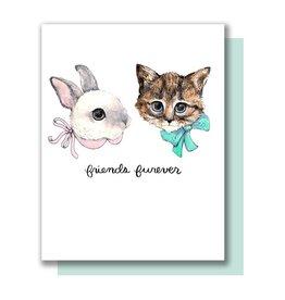 Paper Wilderness Card - Blank: Friends Furever