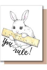 Card - Blank: You Rule!