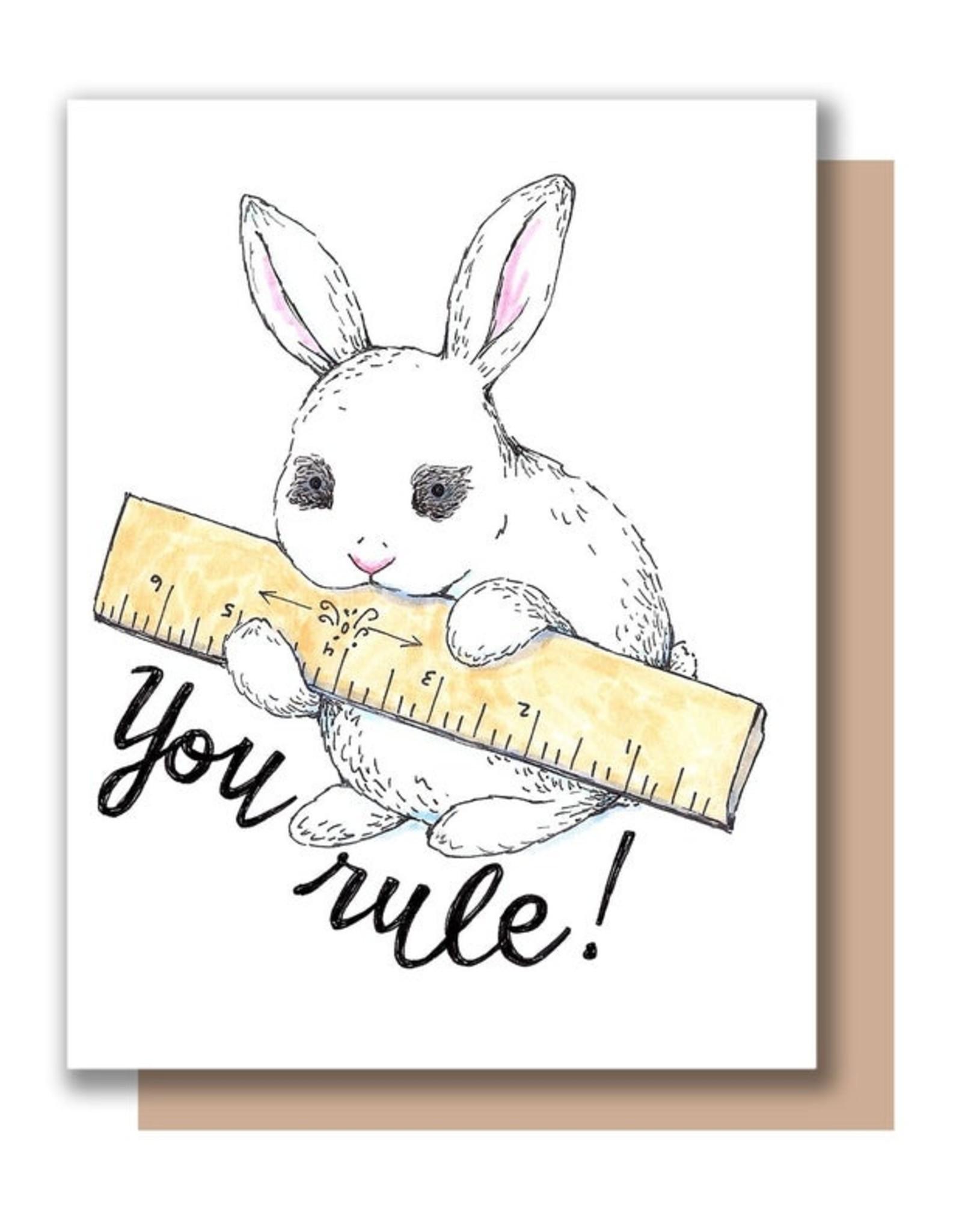 Paper Wilderness Card - Blank: You Rule!
