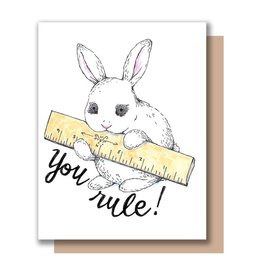 Card - Blank: You Rule!