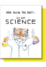 Card - Dad: It's Just Science