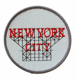 Claudia Pearson Embroidered Patch: NYC