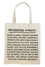 Tote: Presidential Wishlist