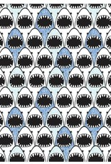 Shark Lineup Wrapping Paper Roll
