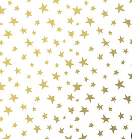 Wrapping Paper Roll: Golden Stars