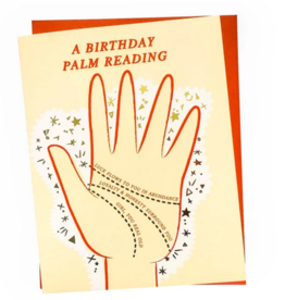 Card - Birthday: Palm Reading