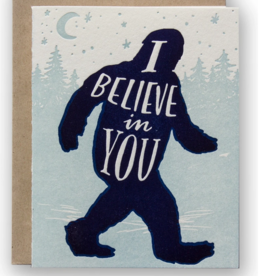 Card - Blank: Believe in you supernatural