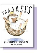Card - Birthday: Hog Wild Queen