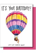 Card - Birthday: Carried Away Balloon