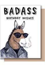 Paper Wilderness Card - Birthday: Badass