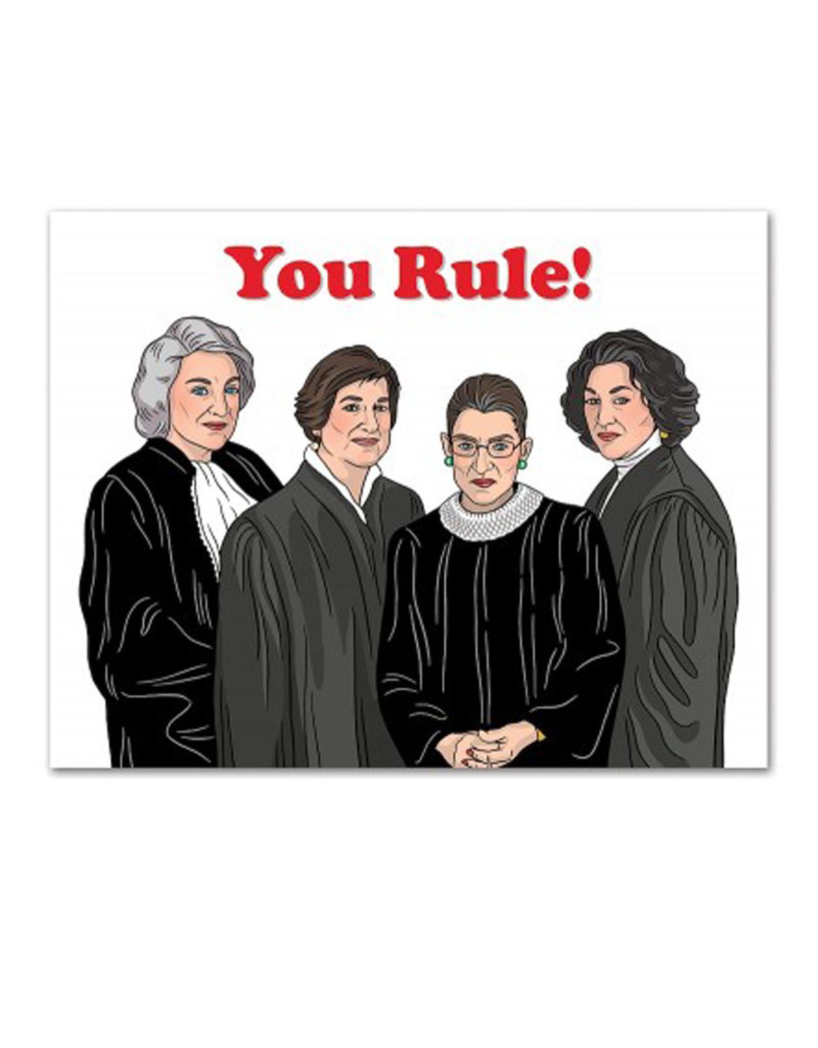 Card - Birthday: Judges Rule
