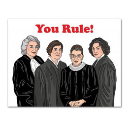 Card - Birthday: Judges Rule