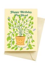 Card - Birthday: Pot Head