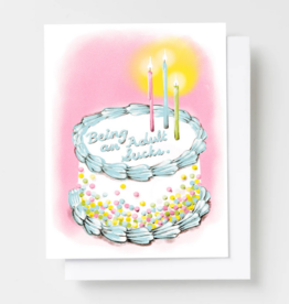 Card - Birthday: Being an adult sucks