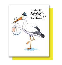 Card - Baby: Totally Storked