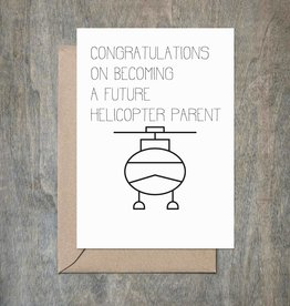 Card - Baby: Helicopter Parent