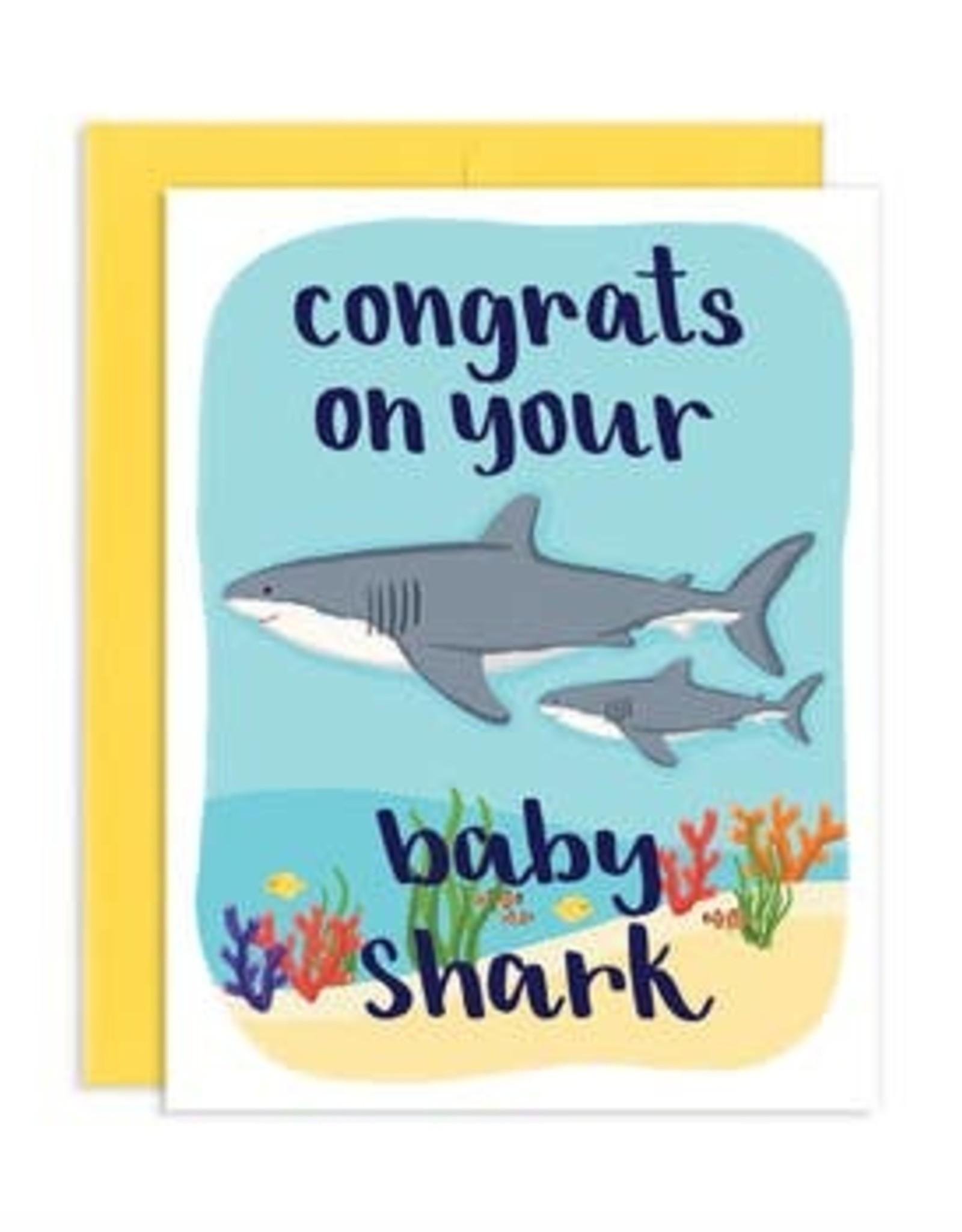 Card - Baby: Baby Shark