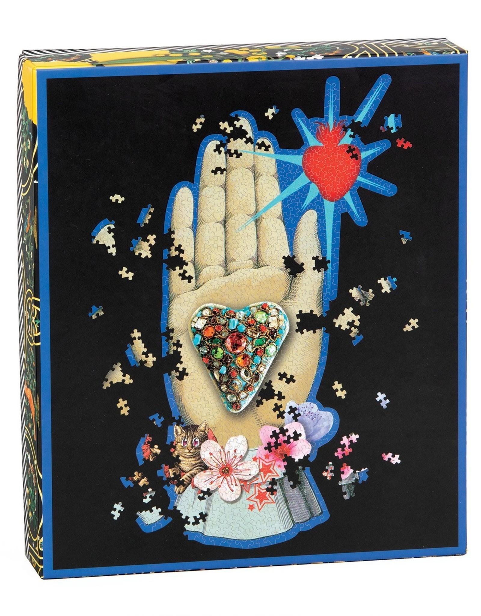 Puzzle: 750 piece Christian Lacroix Maison de Jeu Hand