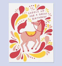 The Good Twin Card - Birthday: Saddle Up