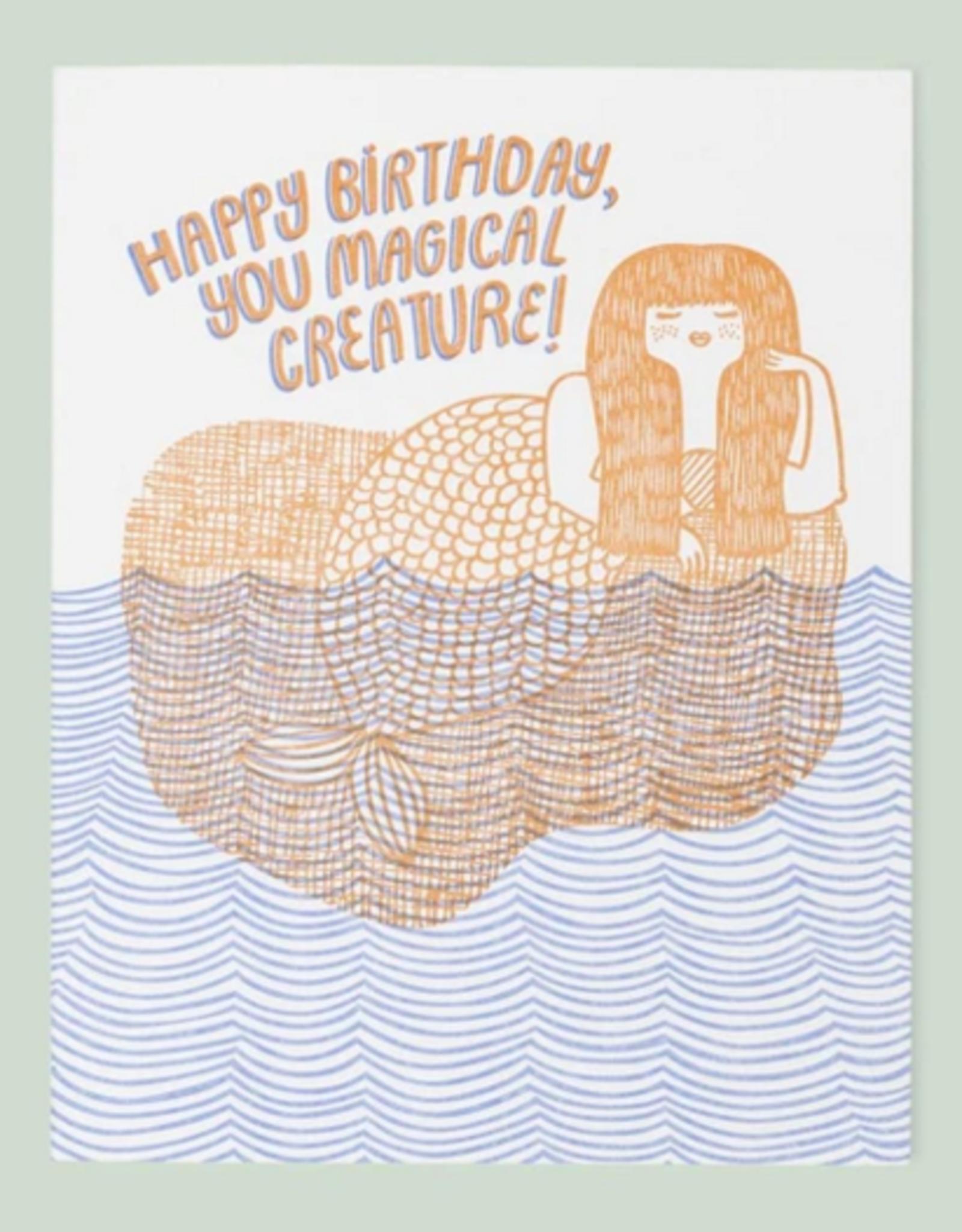 Card - Birthday: Magical Creature