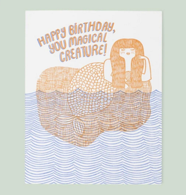 Card - Birthday: Magical Creature